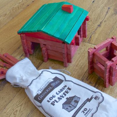 SHAPE OF THINGS: THE LOG CABIN