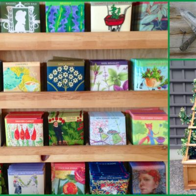 THE MAGIC OF SEED PACKETS